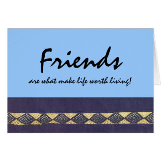 African Diamond: Life Worth Living Note Card