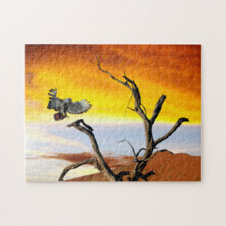 African Eagle. Jigsaw Puzzle