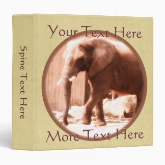 African Elephant Binder