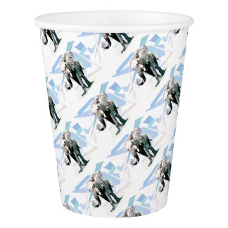 African elephant paper cup