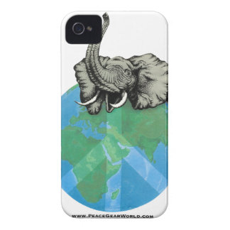 African Elephant Peace design Case-Mate iPhone 4 Cases