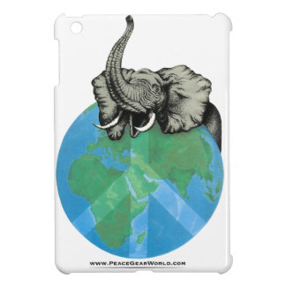 African Elephant Peace design Cover For The iPad Mini