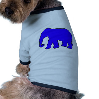 African Elephant Silhouette Ivory Tusks Dumbo Pet Clothes