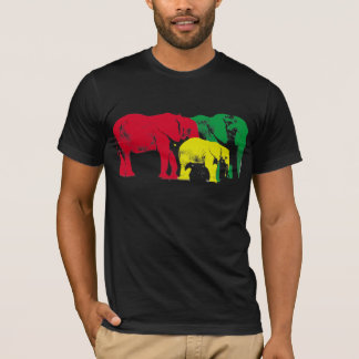 African Elephants by Brad Scott T-Shirt