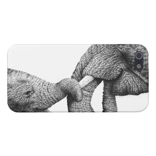 African Elephants iPhone 5/5S Case