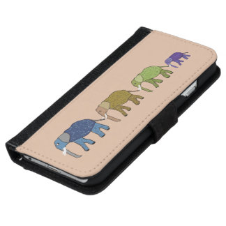 African Elephants iPhone 6 Wallet Case