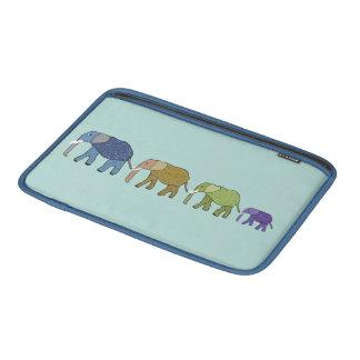 African Elephants Sleeves For MacBook Air