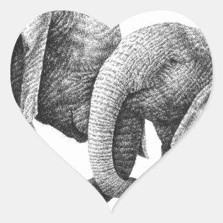 African Elephants Sticker