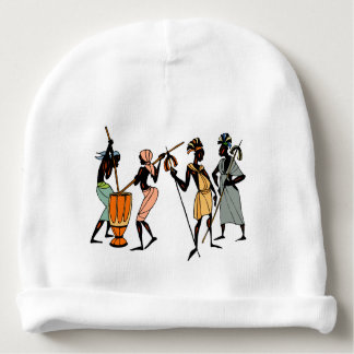 African Ethnic Native tribal design Baby Beanie