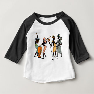African Ethnic Native tribal design Baby T-Shirt