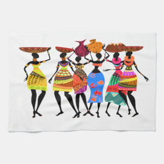 African Feast Hand Towels