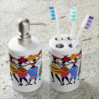African Feast Soap Dispensers