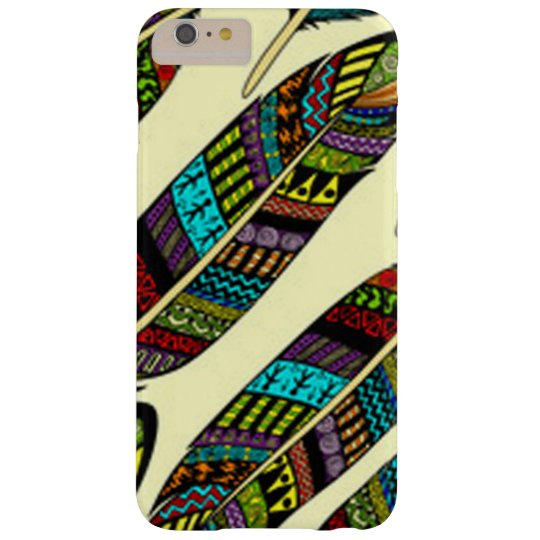 African Feathers Barely There iPhone 6 Plus Case
