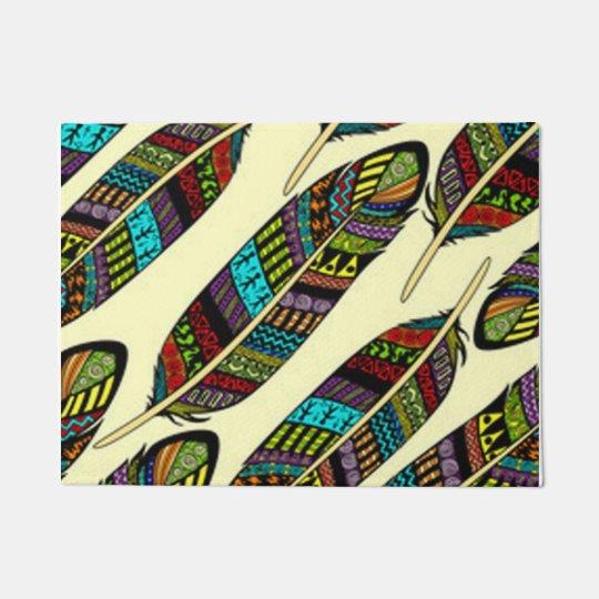 African Feathers Doormat