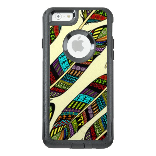 African Feathers OtterBox iPhone 6/6s Case