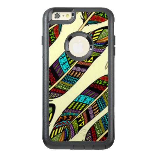 African Feathers OtterBox iPhone 6/6s Plus Case