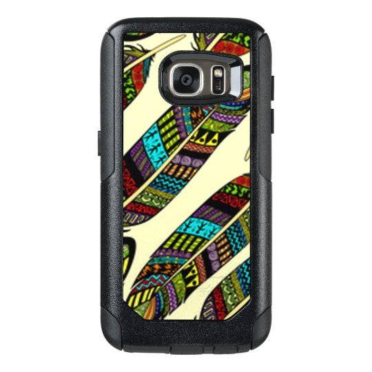 African Feathers OtterBox Samsung Galaxy S7 Case
