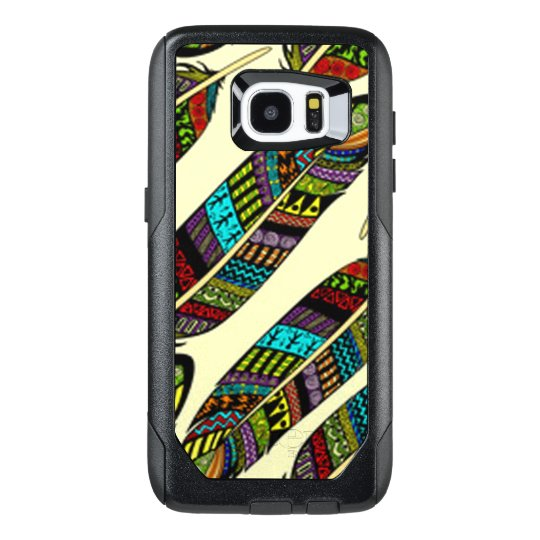 African Feathers OtterBox Samsung Galaxy S7 Edge Case