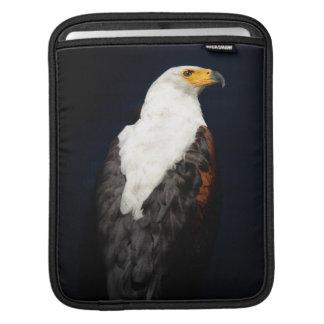African fish eagle iPad sleeve