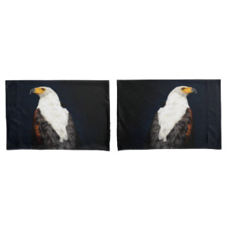 African fish eagle pillowcase