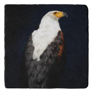 African fish eagle trivet