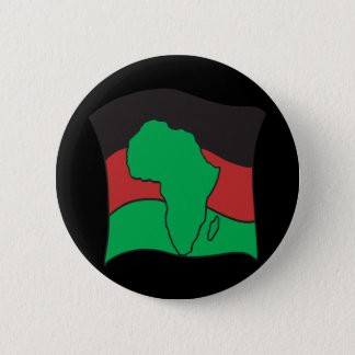 African Flag 2 Inch Round Button