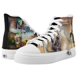 African flavour high tops