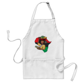 African Food Aprons