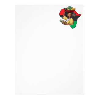 African Food Personalized Letterhead