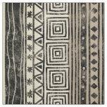 African Geometric Pattern Fabric