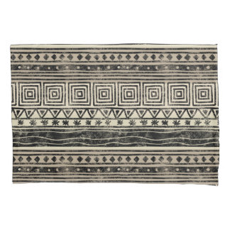 African Geometric Pattern Pillowcase