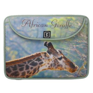 African Giraffe 15 inch MacBook Pro Covers MacBook Pro Sleeves