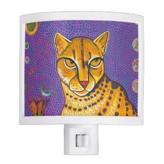 African Golden Cat Nightlight Night Light