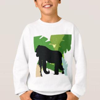 African gorilla sweatshirt