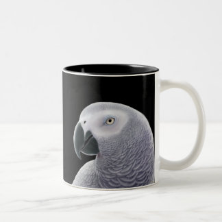 African Gray Parrot Mug
