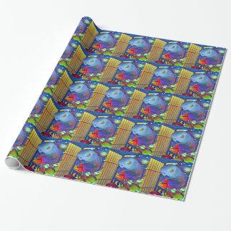 African Grey #2 Wrapping Paper