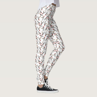 African Grey Grey Parrot Leggings