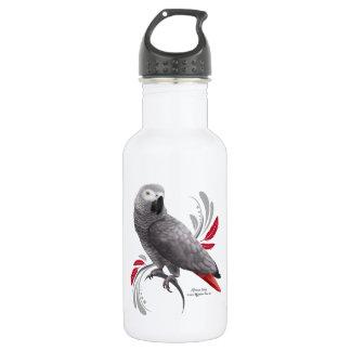 African Grey Parrot 532 Ml Water Bottle