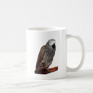 African Grey Parrot Coffee Mug