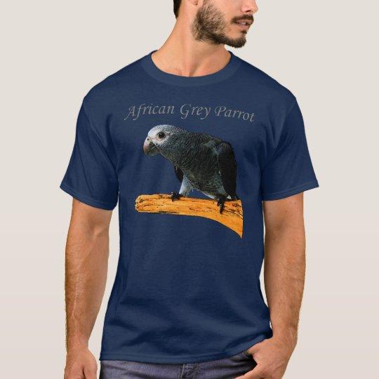 African Grey Parrot T-Shirt
