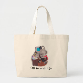 African Grey Parrot Tote