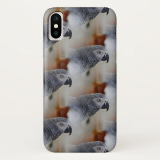 African Grey Pattern iPhone X Case