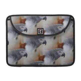 African Grey Pattern MacBook Pro Sleeve