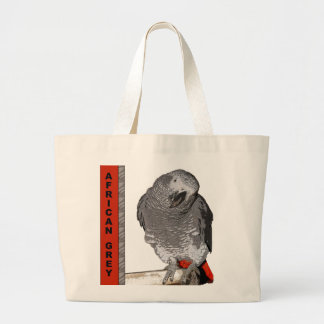 African Grey Tote