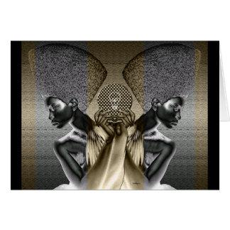 African Guardians of  Light Card