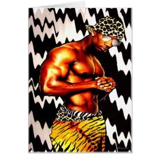African Hip Hop Card