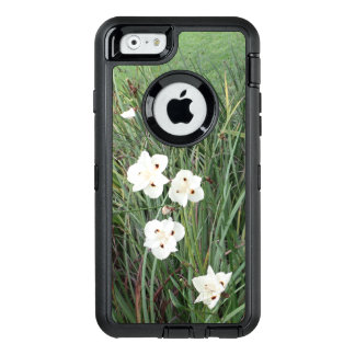 African Iris Flowers OtterBox Defender iPhone Case