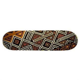 African Kuba Design Skateboard