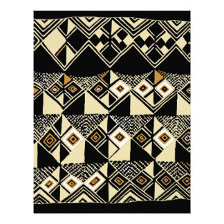 African Kuba Inspired Designs Customized Letterhead