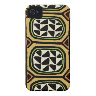 African Kuba Textile Design iPhone 4 Covers